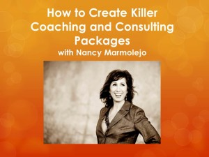 How to Create Killer Coaching and Consulting Packages